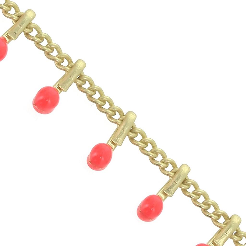 x 50cm 6mm Gold Diamond Cut Chain