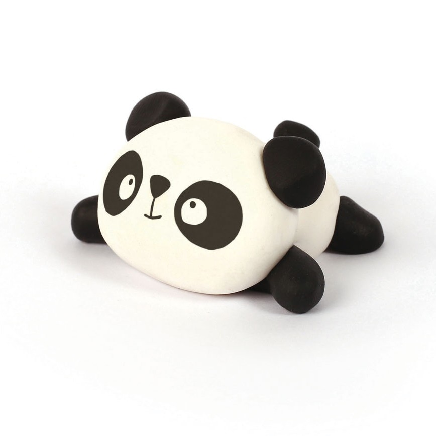Fimo Clay Modelling Kit Mini Figurine Panda X1 Perles Co