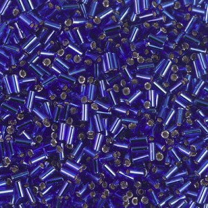 Round 1.3mm 15 Grams Japanese Miyuki Delica 150 Beads Met Dark Blue Iris DBS0002