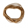 Cotton waxed cord 1,5mm  Coffee x5m