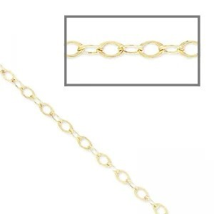 Oval chain 1,6mm Gold filled 14K x 50cm