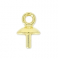 Classic drop pendant holder for Drop Swarovski 30mm Gold x1