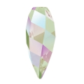 Twisted Drop Swarovski 6540 20mm Crystal Paradise Shine x1