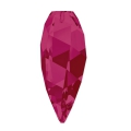 Twisted Drop Swarovski 6540 20 mm Ruby x1