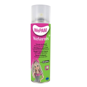 Spray Varnish Wepam for cold porcelain Brillant x1