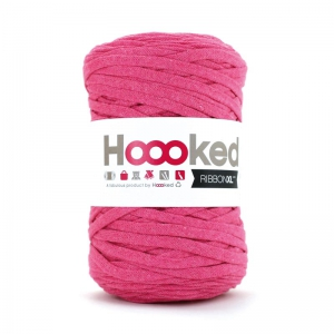 Hoooked Ribbon XL DMC - Jersey Ball Fuchsia x 120m