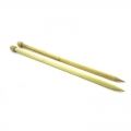Knitting needles 12mm bamboo x35 cm