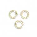14K Gold filled jumprings open 2.5x0.5mm  x50