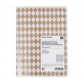 Paper Poetry Notebook diamond 105x140mm whitex1