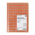Paper Poetry Notebook diamond 105x140mm Orange Fluo x1