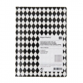 Paper Poetry Notebook diamond 105x140mm black x1