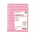 Paper Poetry Notebook herringbone 80x105mm Fluo pink x1
