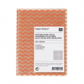 Paper Poetry Notebook herringbone 80x105mm Orange Fluo x1