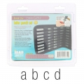Letter punch set Minuscule Gothic 1.5 mm