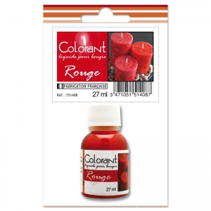 Liquid Candle Colorant Red x27ml