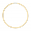 Bamboo Round Circle 20 cm Natural x1