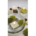 Molds to create adjustable and floating candles with wicks  x7