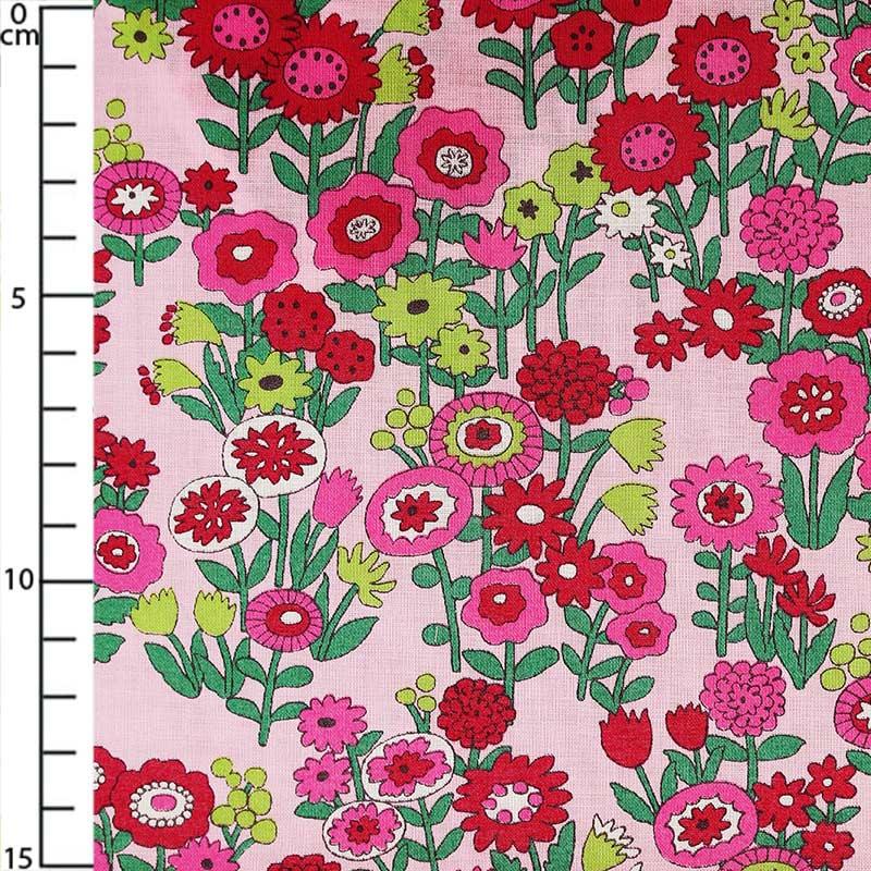 fabric collection les oiseaux fleurs p tale de rose. Black Bedroom Furniture Sets. Home Design Ideas