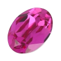 Swarovski 4120 Oval Fancy Stone 14x10mm Fuchsia x1