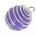 Ball for pregnancy pendant ball  18 mm Mint x1