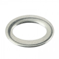 Oval ring spacer 15x10 mm stainless steel x1