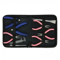 Storage case with 6 pliers and 3 tools x1