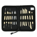 Storage case with 14 modelling tools x1