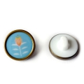 Button Madame Casse Bonbon 15mm Mildred x1