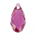 Swarovski Drop 6010 17x8.5mm Fuchsia x1