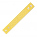 Bracelet to embroider imitation leather 30 mm Mustard x 23 cm