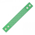 Bracelet to embroider imitation leather 30 mm Green x 23 cm