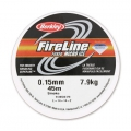 Fireline braided nylon thread 0.15mm (8LB) Smoke Grey x45m