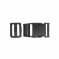 Quick release buckles with buckle 25 mm Black x1