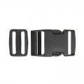 Quick release buckles with buckle 40 mm Black x1