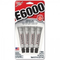 Mini E-6000 glue 4 x 5.3 ml