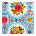 Decorative adhesive sheets 45x200cm flowersx1