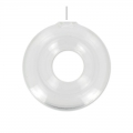 Glass donuts 1 hole to fill 40 mm x1
