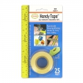 Tape measure repositionable adhesive roll x 7.6 m