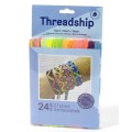 Assortment 24 skeins Fluo x1