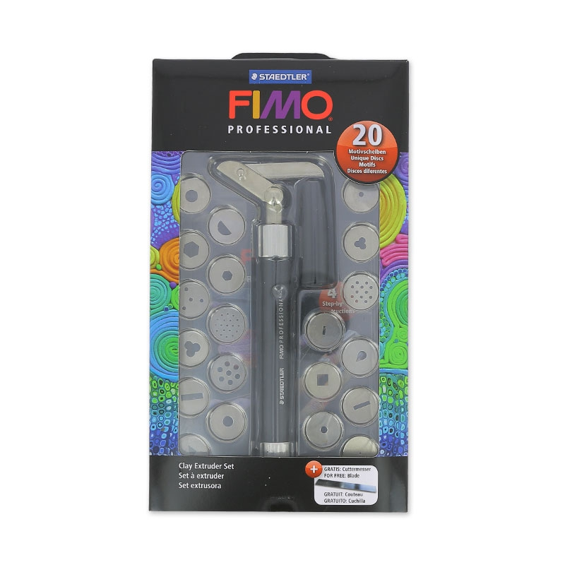 Clay gun set makin's clay Fimo and accessories x1 - Staedtler ...