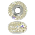 Swarovski 81922 BeCharmed Pavé 14 mm Crystal Golden Sha/Crystal AB x1