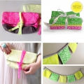 fabric Neon & On - Neon Pink Honeycomb x10cm