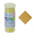 Enamel Powder Efcolor gold tone metalized x10ml