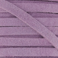 Leather band suede imitation 5 mm Lilas x50cm