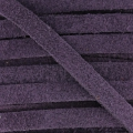 Leather band suede imitation 5 mm Violet x50cm