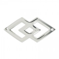 Spacer Navajo 2 holes 40x20 mm stainless steel x1