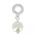 Swarovski 87000 Pearl Charms 8 mm White Pearl x1
