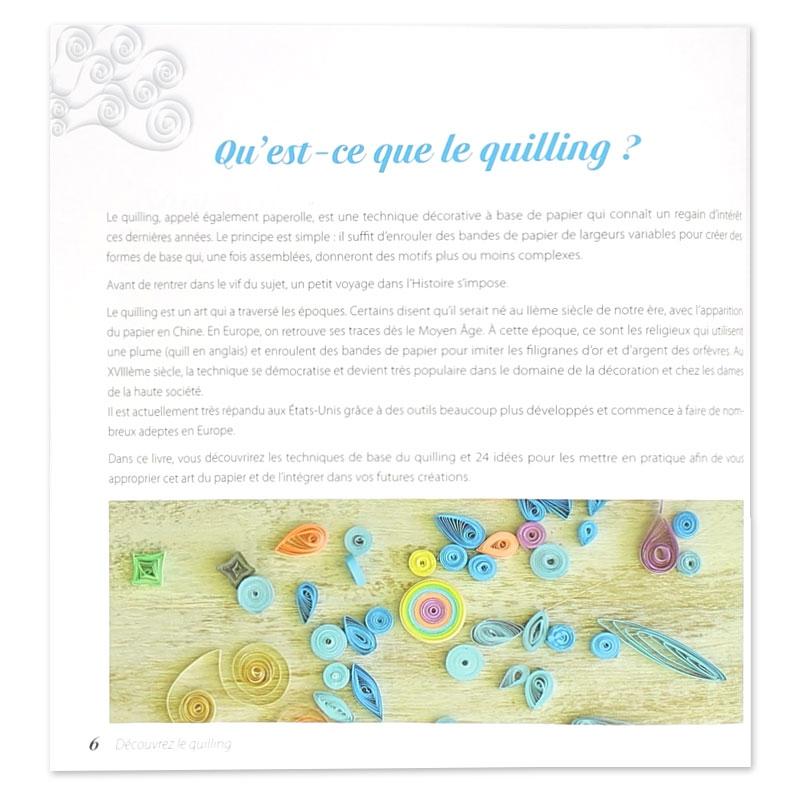 Decouvrez Le Quilling 2eme Edition 24 Idees Pour Bien Debuter