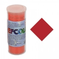 Enamel Powder Efcolor Red Transparent x10ml