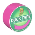 Adhesive Duck Tape uni Fluo 48 mm Neon Pink x13m